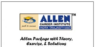 allen study package for iit jee 2020