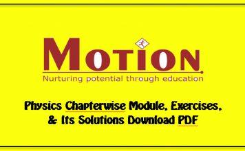 motion IIT JEE physics