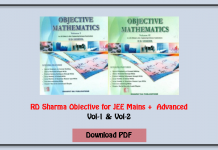 rd sharma objectives for jee mains and advanced download