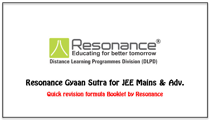 resonance gyaan sutra download for quick revision
