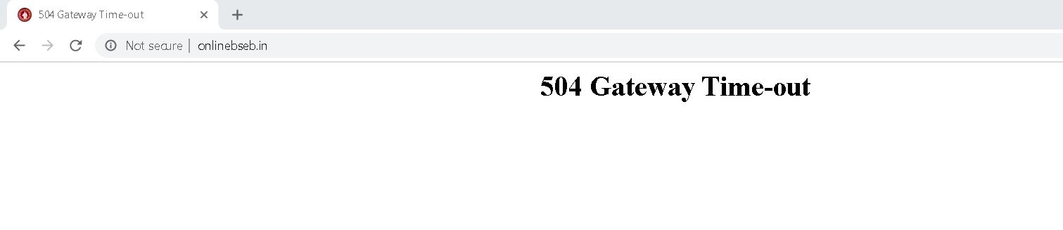 bseb 10th result site down