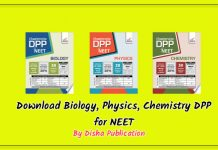 neet dpp by disha publications download free