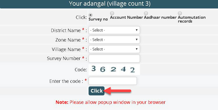 check-adangal-information-2 Meebhoomi AP Land Records: Search ROR 1B Check Online | AP Village Map