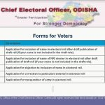Voter list correction new apply form download pdf