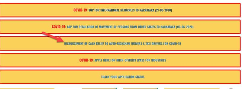 seva-sindhu-driver-5000-apply-1-min Seva Sindhu Portal (Auto Taxi Driver 5000 Scheme) Application Form Online Apply @ sevasindhu.karnataka.gov.in