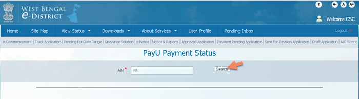 payu-payment-status WB eDistrict: Status Check, Apply for Income, Caste, Residence Certificate |  @edistrict.wb.gov.in