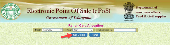 ration-card-allocation-details Telangana Ration Card List 2021: Online Apply Link, Application Status  @ civilsupplies.telangana.gov.in