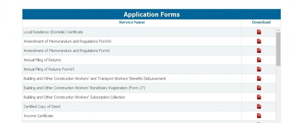 wb-edistrict-forms-download-1024x427 WB eDistrict: Status Check, Apply for Income, Caste, Residence Certificate |  @edistrict.wb.gov.in