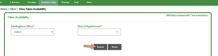 token-availability-check Tnreginet Registration: Guide Value Search, Login | Apply for Services @ tnreginet.gov.in