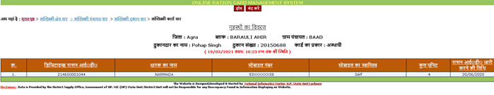 beneficiary-list UP Ration Card List 2021: यूपी राशन कार्ड लिस्ट, APL, BPL New List, District wise Ration Card UP