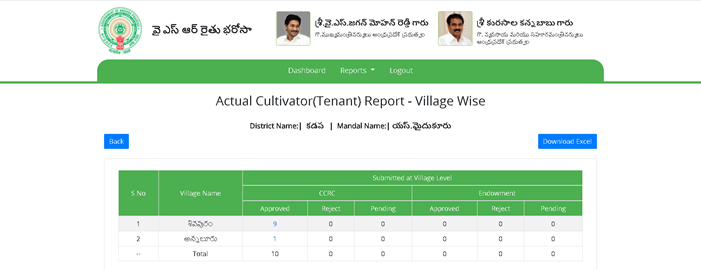 tenant-farmer-click-on-approved-number YSR Rythu Bharosa List 2021: Payment Status, Login, District wise Beneficiary