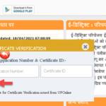 Income Certificate Up Verify