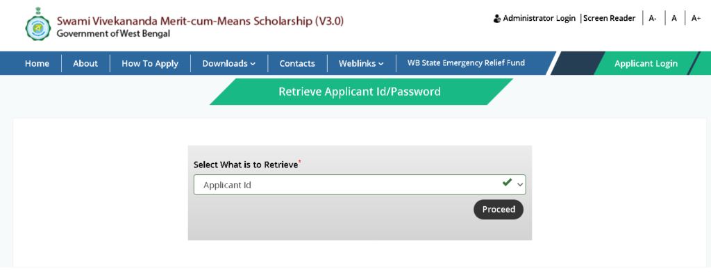 know-applicant-id-1-1024x399 Swami Vivekanand Scholarship 2021: Online Application, Status, Renewal, Eligibility