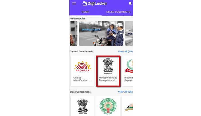 DigiLocker-se-Driving-License-or-Gaadi-ki-RC-kaise-Download-kare-_-How-to-Download-DL-and-Vehicle-RC-1-4-screenshot Download DL Online: Process to Download Driving License, Duplicate DL Apply