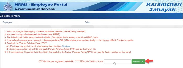 How-to-Map-Family-Data-to-PPP-Intrahry.nic_.in-0-58-screenshot Intra Haryana: Login, Property Return, eSalary, Salary Statement, Leave Apply @intrahry.gov.in