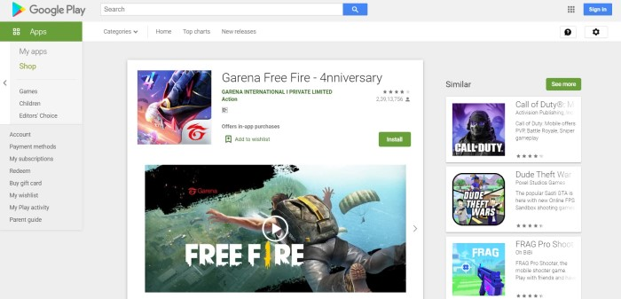 Free-Fire-Download-on-Jio-Phone Free Fire Game Download in Jio Phone APK, Online Play, Install Process